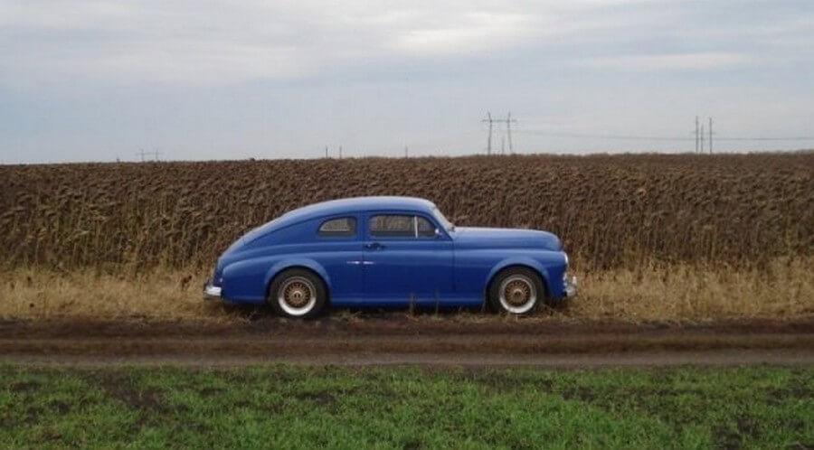Тюнинг классической «Победы», а в итоге стильное купе