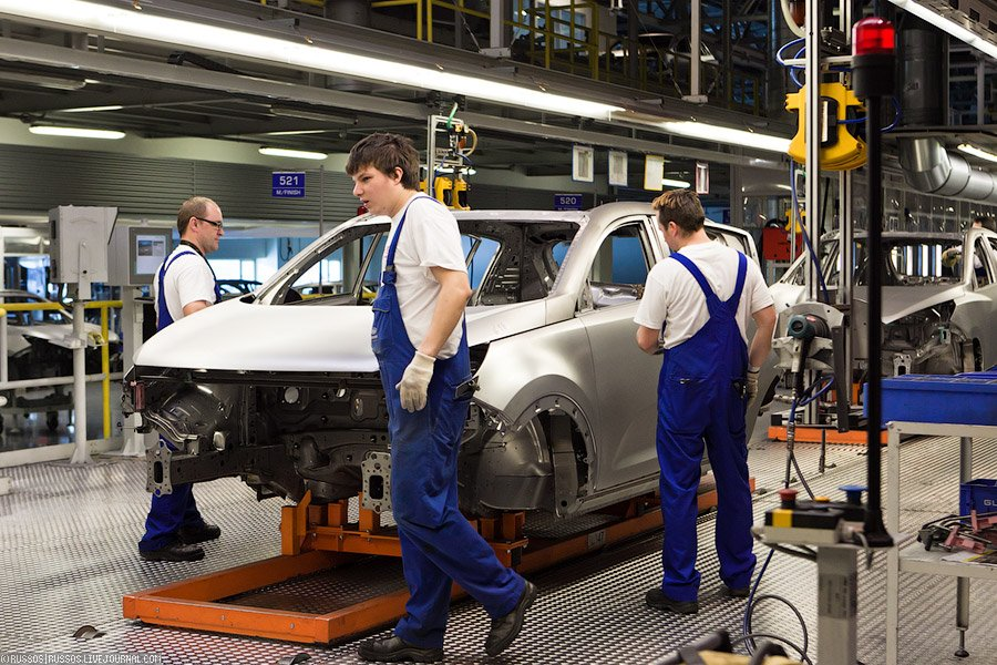 Как делают авто на заводе KIA в Словакии — 44 фото