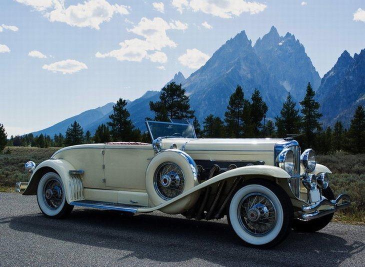 Самые интересные ретро автомобили 20 годов — 16 фото