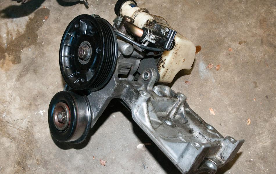 Замена рулевого механизма с усилителем