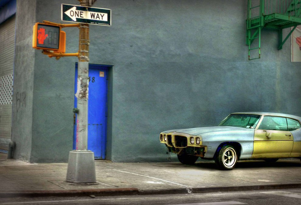 Фотограф в течение 10 лет гулял по улицам Нью-Йорка, чтобы запечатлетьретро-машины