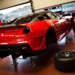 Итальянский автодром — болиды Формулы-1: Феррари