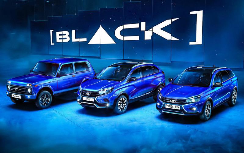 Lada 4×4 и Xray в версии Black: насколько они дороже?