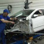 Как сделать ремонт кузова автомобиля стекловолокном (стеклотканью)