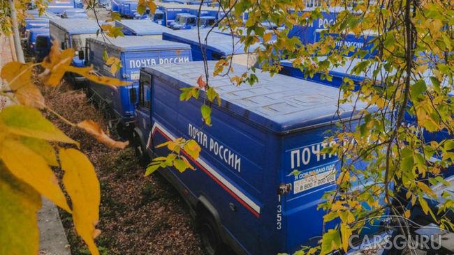 В столице нашли десятки заброшенных грузовиков «Почты России»