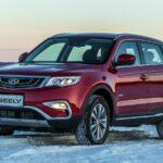 В два раза больше авто Geely реализовано в РФ