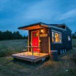 Миниатюрный дом — прицеп на колёсах