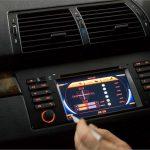 Основные преимущества штатной навигации BMW X5 Е53
