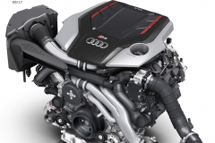 2.9 litre V6 TFSI engine in the Audi RS 4 Avant